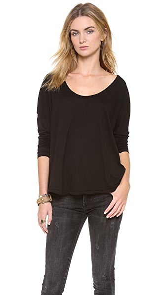 AG Adriano Goldschmied Boxy Scoop Tee