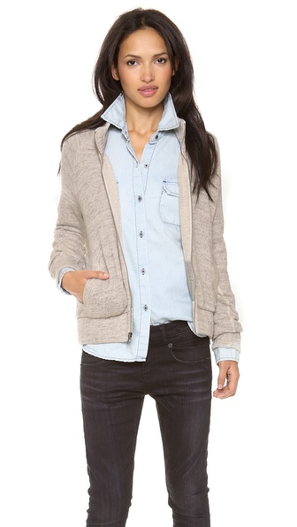 AG Adriano Goldschmied Zip Front Jacket