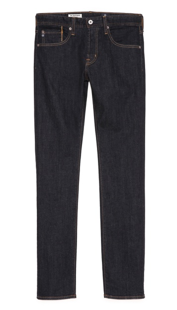 AG Adriano Goldschmied Matchbox Slim Straight Jeans in Jack Wash