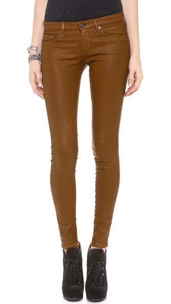 AG Adriano Goldschmied The Coated Absolute Legging Jeans