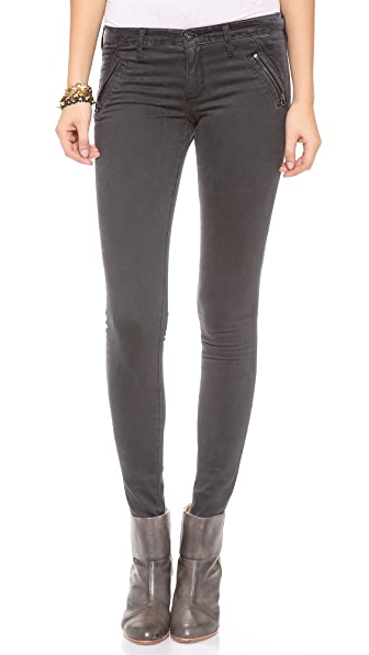 AG The Willow Zip Extreme Skinny Jeans