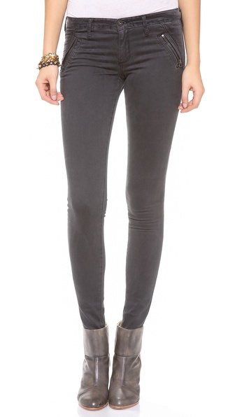 AG Adriano Goldschmied The Willow Zip Extreme Skinny Jeans