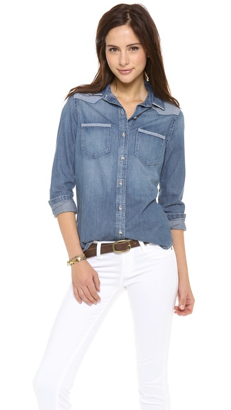 AG Adriano Goldschmied Denim Chambray Shirt
