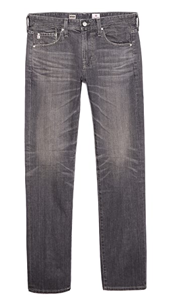 AG Adriano Goldschmied Matchbox Slim Straight Fit Jeans