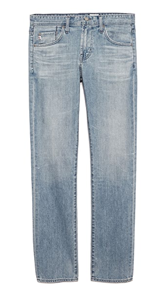 AG Adriano Goldschmied Matchbox Slim Straight Jeans