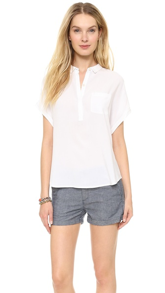 AG Adriano Goldschmied Sway Popover Top