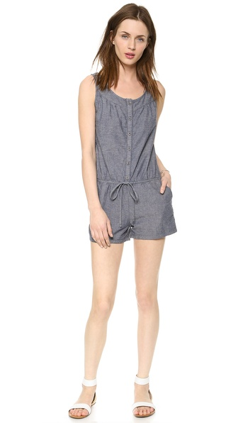 Ag Adriano Goldschmied The Tristan Romper - Pandora at Shopbop / East Dane