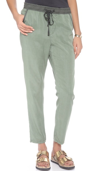 Ag Adriano Goldschmied The Weekend Pants - Sulfur Basil at Shopbop / East Dane