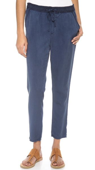 Ag Adriano Goldschmied The Weekend Pants - Sulfur Calm Blue at Shopbop / East Dane