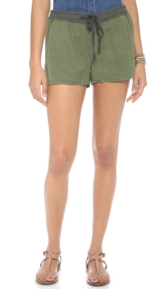 Ag Adriano Goldschmied The Weekend Shorts - Sulfur Basil at Shopbop / East Dane