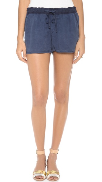 Ag Adriano Goldschmied The Weekend Shorts - Sulfur Calm Blue at Shopbop / East Dane