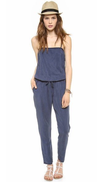 Ag Adriano Goldschmied The Weekend Romper - Sulfur Calm Blue at Shopbop / East Dane