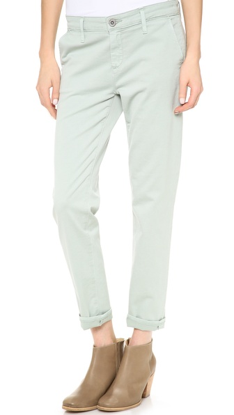 Ag Adriano Goldschmied The Tristan Tailor Trousers - Sulfur Light Fatigue at Shopbop / East Dane