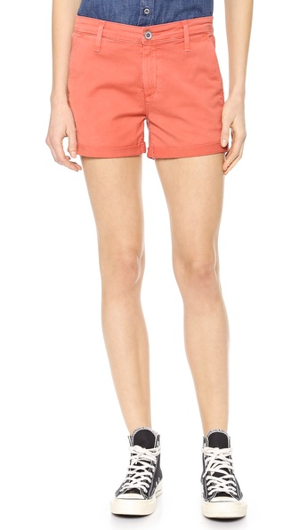 Ag Adriano Goldschmied The Tristan Tailored Shorts - Sulfur Papaya at Shopbop / East Dane