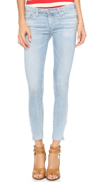 AG Adriano Goldschmied Zip Ankle Legging Jeans