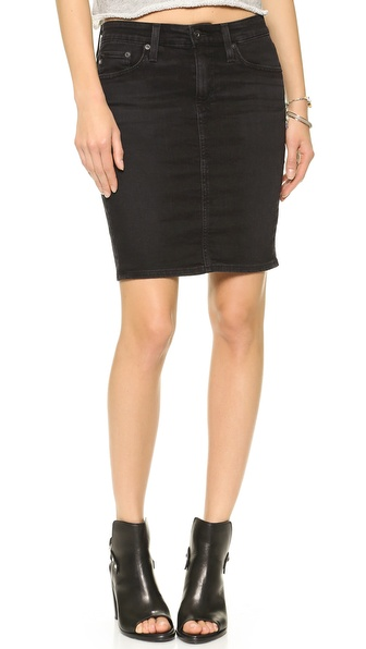 AG Adriano Goldschmied The Erin Pencil Skirt