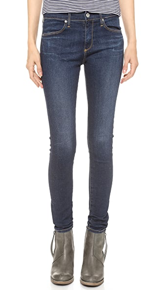 AG The Farrah High Rise Skinny Jeans