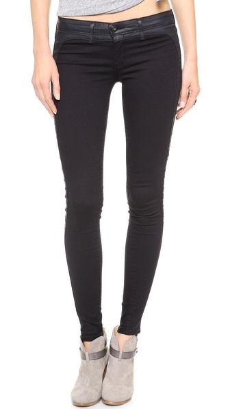 AG Adriano Goldschmied The Jackson Contour Tuxedo Skinny Jeans