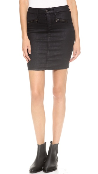 AG Adriano Goldschmied The Kodie Biker Pencil Skirt