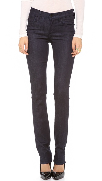 A Gold E Elodie Straight Leg Jeans