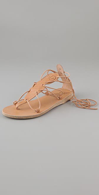 Ancient Greek Sandals Circe T Strap Flat Sandals