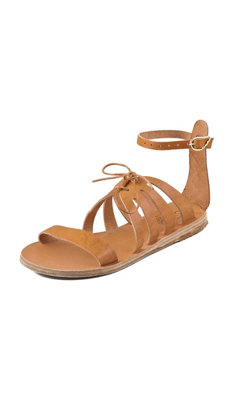 Ancient Greek Sandals Iphigenia Flat Sandals