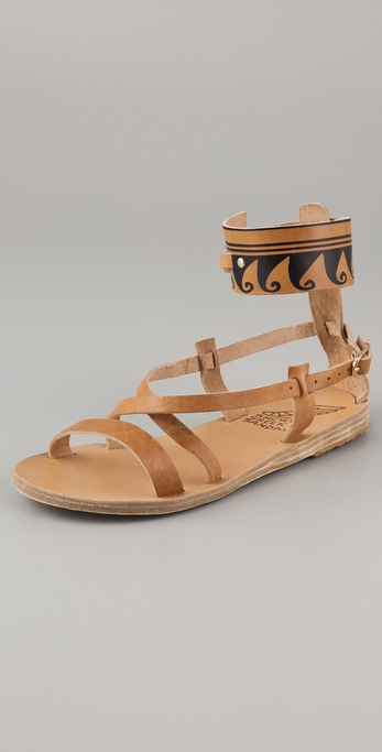 Ancient Greek Sandals Nausica Flat Sandals