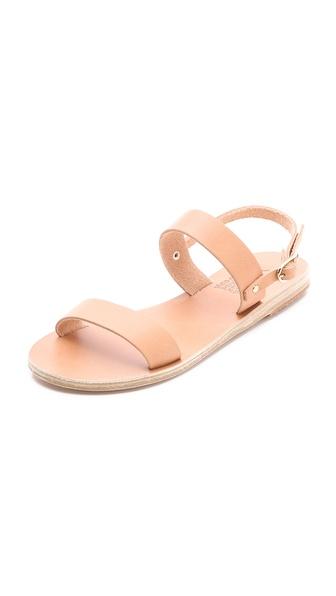 Ancient Greek Sandals Clio Flat Slide Sandals