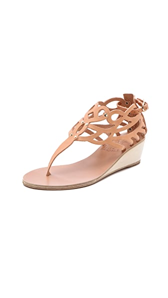 Ancient Greek Sandals Medea Wedge Sandals