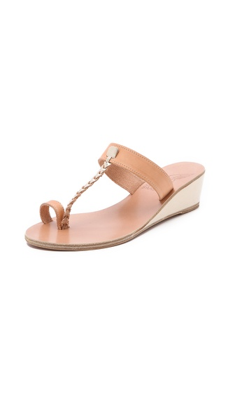 Ancient Greek Sandals Welpomeni Wedge Sandals