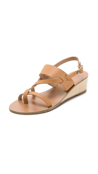 Ancient Greek Sandals Alethea Wedge Sandals - Natural at Shopbop / East Dane