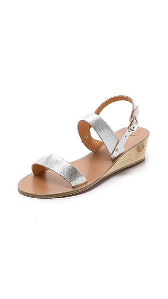 Ancient Greek Sandals Clio Wedge Sandals