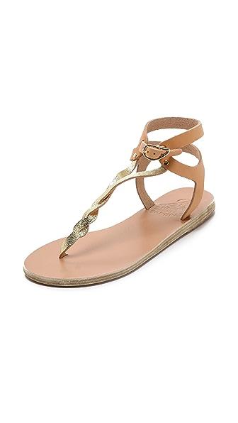 Ancient Greek Sandals Ismene Braided Thong Sandals