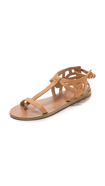 Ancient Greek Sandals Lia Flat Sandals - Natural at Shopbop / East Dane