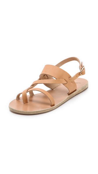 Ancient Greek Sandals Althea Flat Sandals - Natural at Shopbop / East Dane