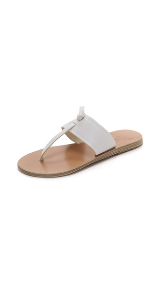 Ancient Greek Sandals Melina Thong Sandals - White at Shopbop / East Dane