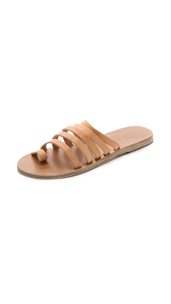 Ancient Greek Sandals Niki Strappy Slide Sandals - Natural at Shopbop / East Dane