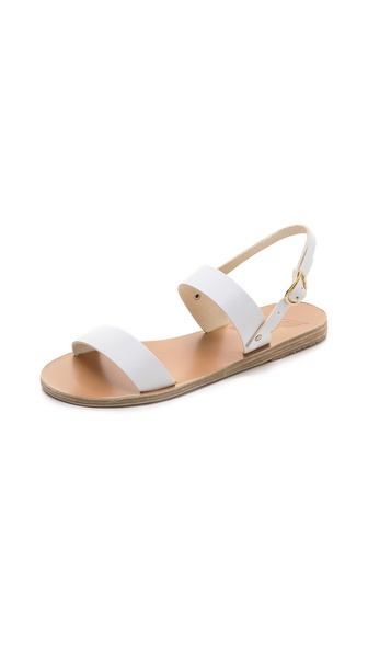 Ancient Greek Sandals Clio Sandals - White at Shopbop / East Dane