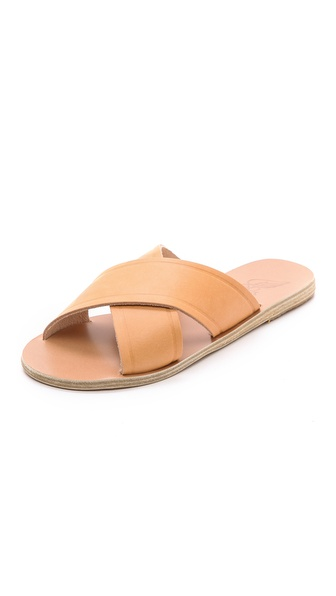Ancient Greek Sandals Thais Cross Strap Sandals - Natural at Shopbop / East Dane