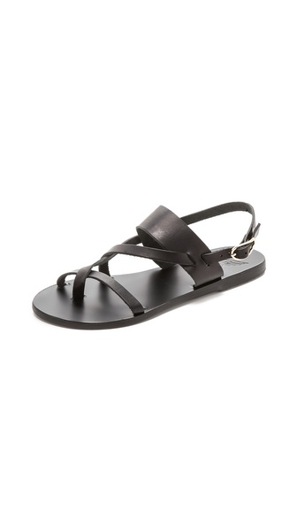 Ancient Greek Sandals Alethea Sandals - Black at Shopbop / East Dane