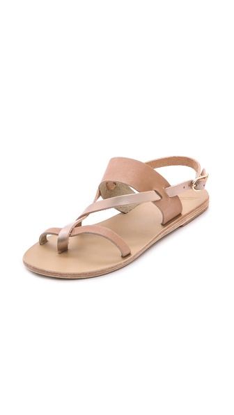 Ancient Greek Sandals Alethea Sandals - Corda/Metal Sand at Shopbop / East Dane