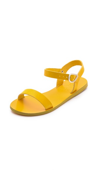 Ancient Greek Sandals Drama Sandals - Yellow at Shopbop / East Dane