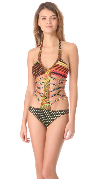 Agua Bendita Bendito '80s One Piece Swimsuit