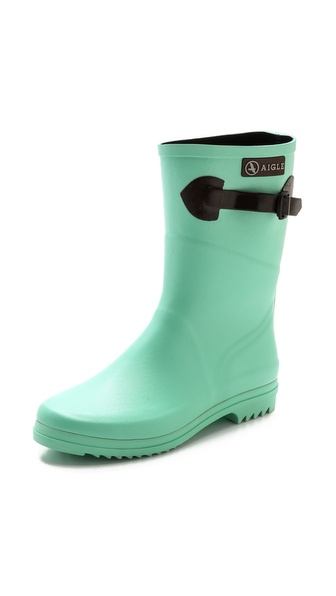 Aigle Chanteboot Pop Boots - Jade at Shopbop / East Dane