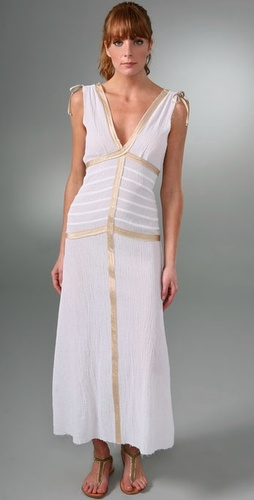 AKA New York Long Ribbon Dress