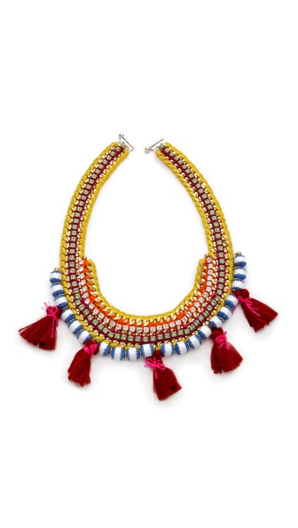 Akong London Tassel Tribal Necklace