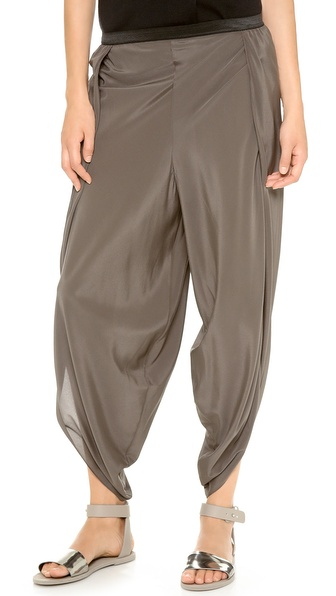 Alasdair Split Silk Pants