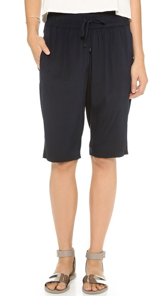 Alasdair Long Silk Shorts