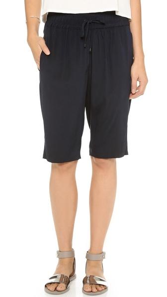 Alasdair Long Silk Shorts