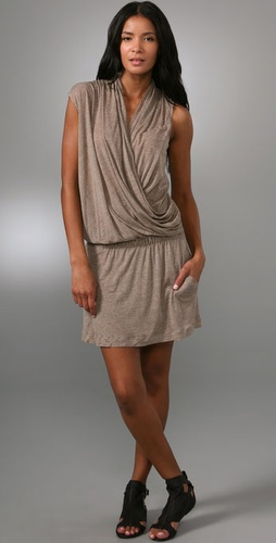 A.L.C. Side Drape Dress